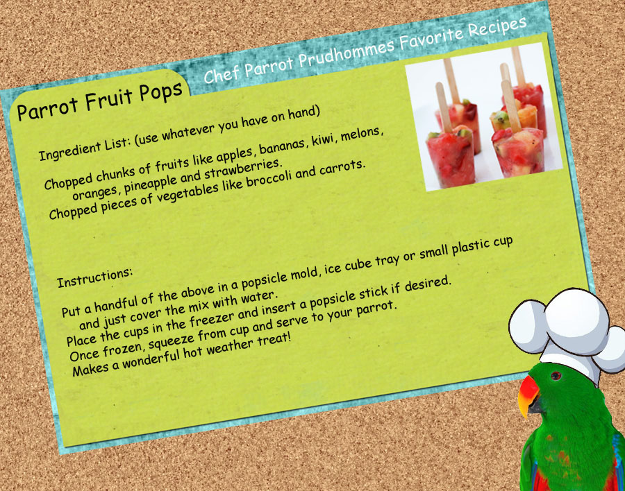 Fruit Pops Recipe