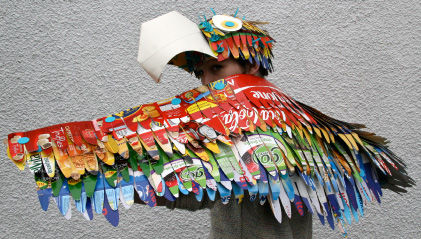 parrot costume craft
